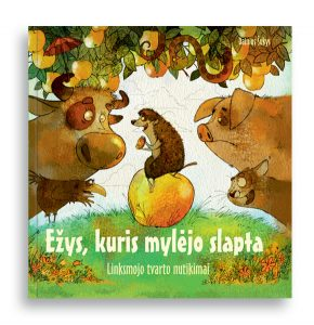"""""""Ežys, kuri mylėjo slapta"""" Dainius Šukys"""