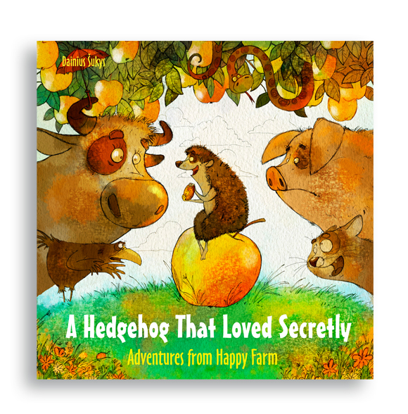 A Hedgehog That Loved Secretly