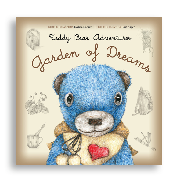 Teddy Bears. Garden of Dreams