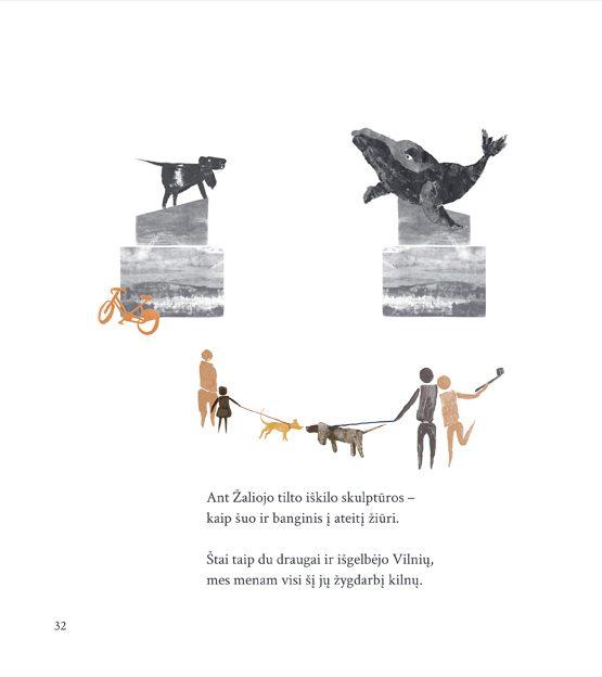 Kaip šuo ir banginis išgelbėjo Vilnių