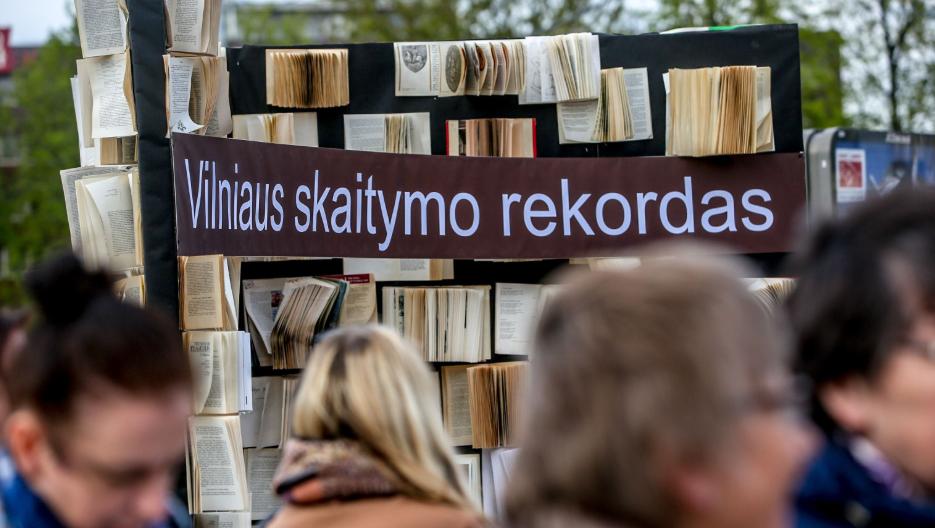 Vilniaus skaitymo rekordas