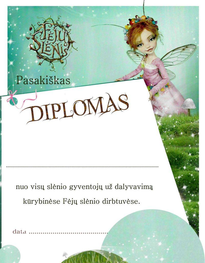 Fėjų dirbtuvių diplomas