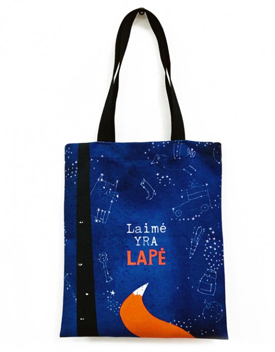 Pirkinių maišelis vaikams - Laimė yra lapė